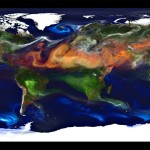 NASA: Portrait of Global Aerosols. Image: NASA.