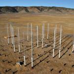 Vertical axis wind turbines. Photo: John Dabiri/Caltech