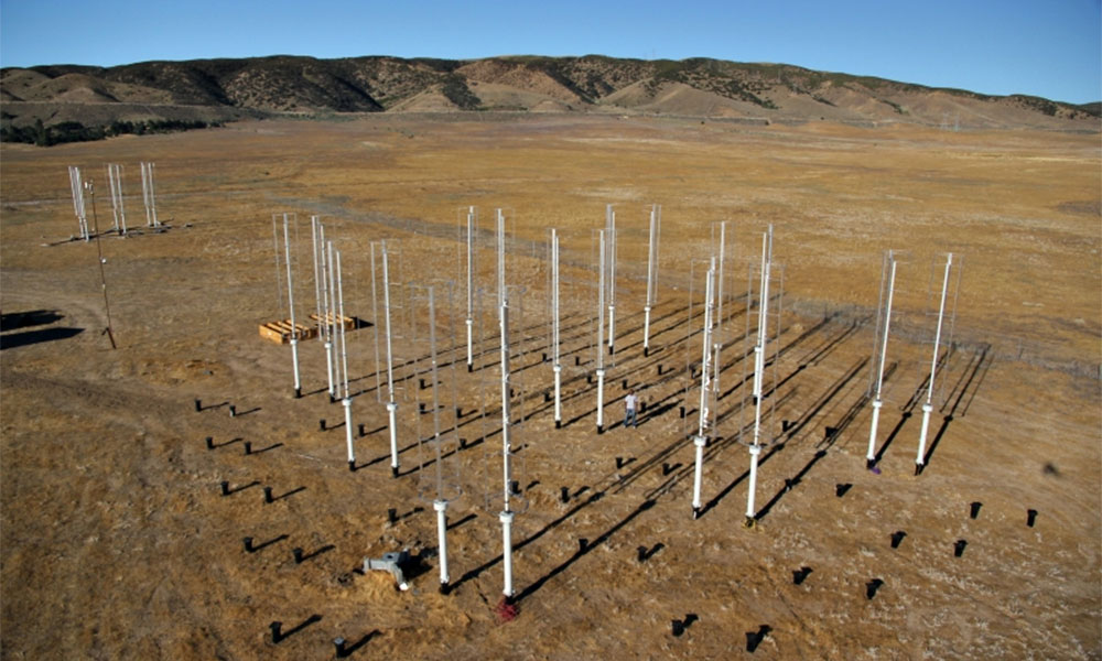 Vertical axis wind turbines. Photo: John Dabiri/Caltech