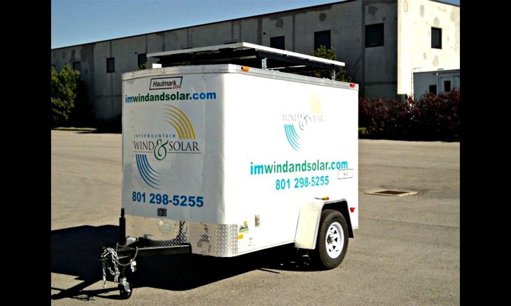 G.O.O.D. Wagon by Intermountain Wind & Solar. Photo: Intermountain Wind & Solar