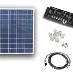UL Solar 85 watt 12 volt RV solar kit. Photo: UL Solar