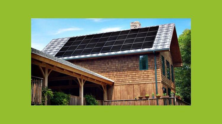 Mitsubishi Electric solar panels. Photo: Mitsubishi
