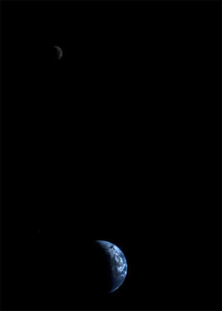 Pale Blue Dot. Photo: NASA