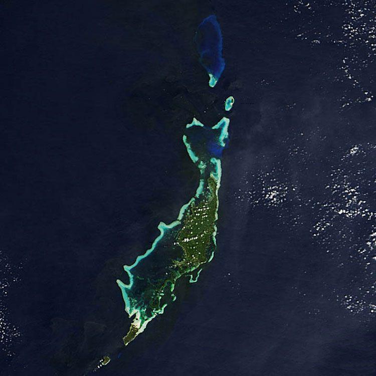 Palau. Photo: NASA