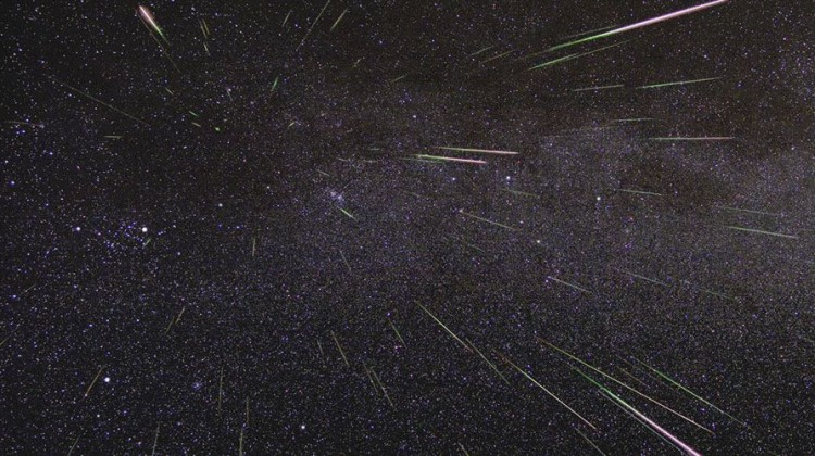 Geminids. Photo: NASA/JPL