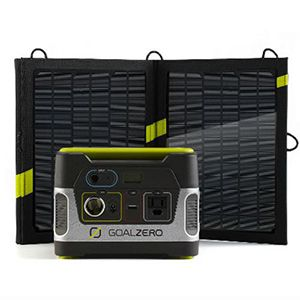 Goal Zero Yeti 150 Solar Generator Kit