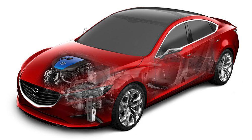 Mazda i-ELOOP Brake Energy Regeneration System