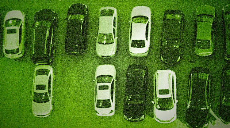 Parked cars. Photo: Peter Griffin