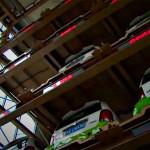 Car vending garage in Hangzhou, China
