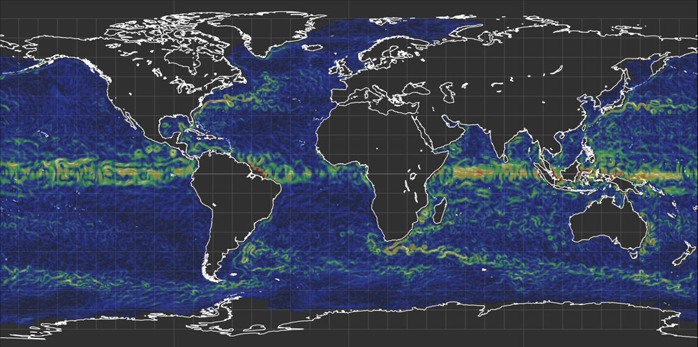 World ocean currents