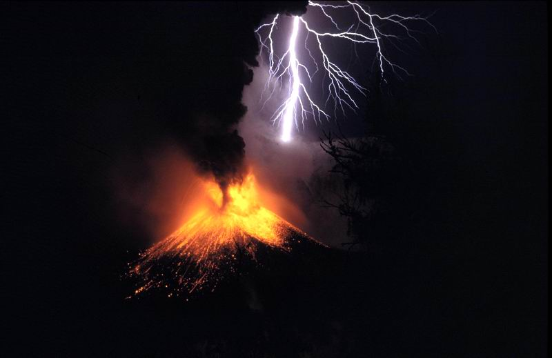 Mount Rinjani, 1994