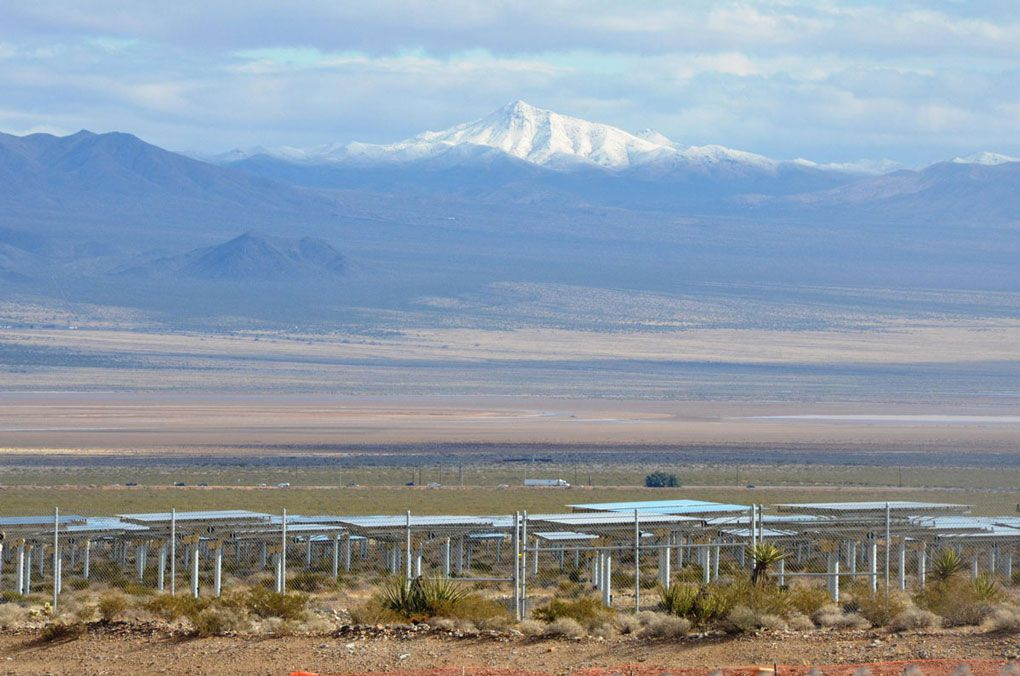 Ivanpah Solar Power Facility. Photo: Bright Source.