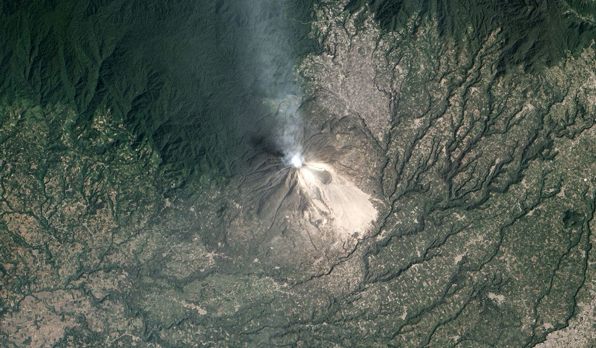 Mount Sinabung, February 2014.