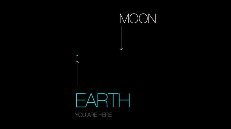 From A Tediously Accurate Map of the Solar System by Josh Worth