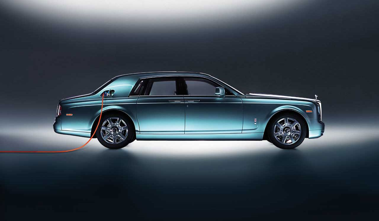 Rolls-Royce 102 EX. This model never made it to production, but a new plug-in hybrid version might.