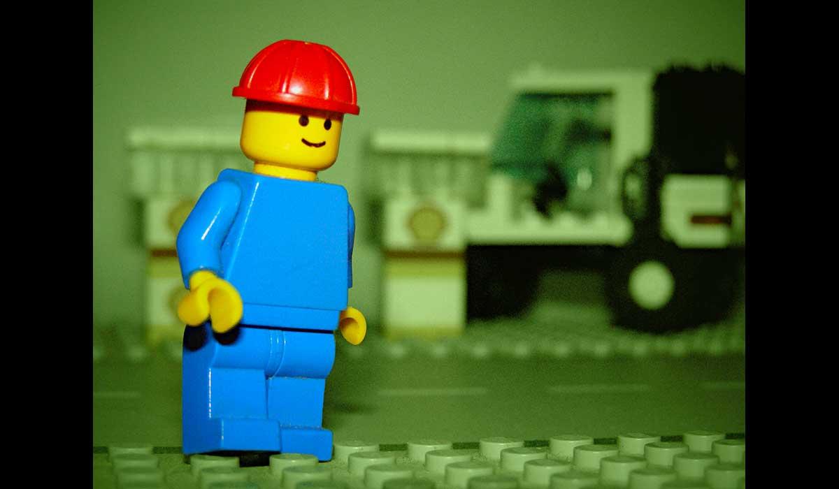 Lego illustration