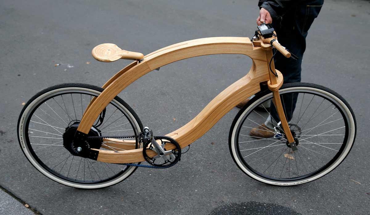 Aceteam wooden ebike